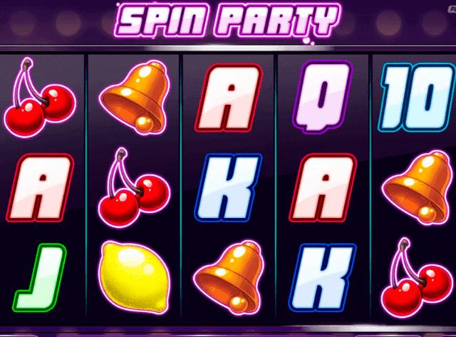 Conozca las funciones de la tragamonedas Spin Party